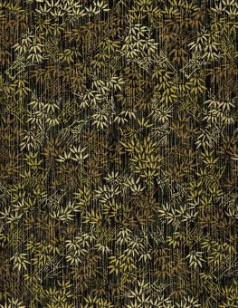 Japanpapier Chiyogami, goldener Bambus 61cm47cm