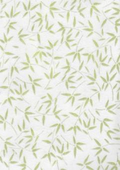Japanpapier Zellstoff, zartgrüner Bambus