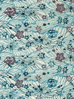 Japanpapier Momi, Blüten und Blätter