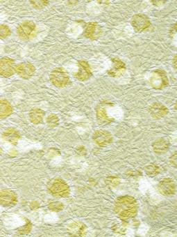 Japanpapier Momi, Mint mit Gold