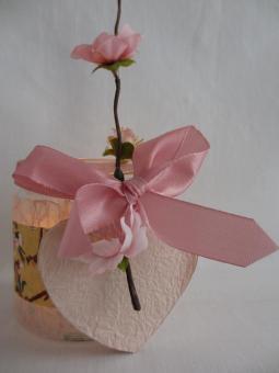 Japanpapier - Windlichter-Bastelpackungen-Japanische-Kirschblüte