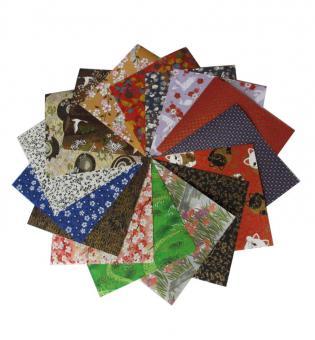 Japanpapier Chiyogami, Origami Papier Mix